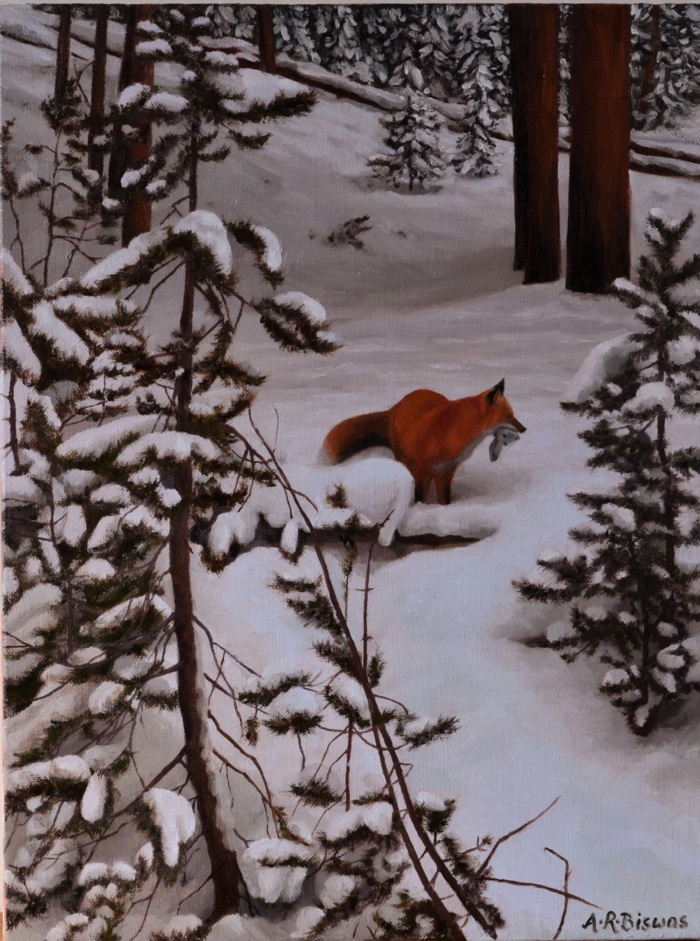 Trouble in winter wonderland