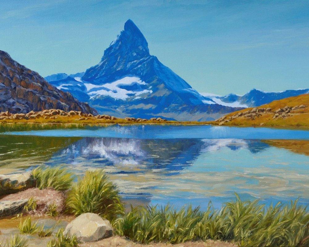 Matterhorn mirrored