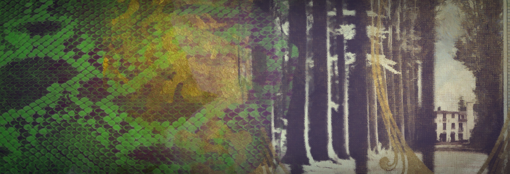 Background Image painted/collaged in photoshop