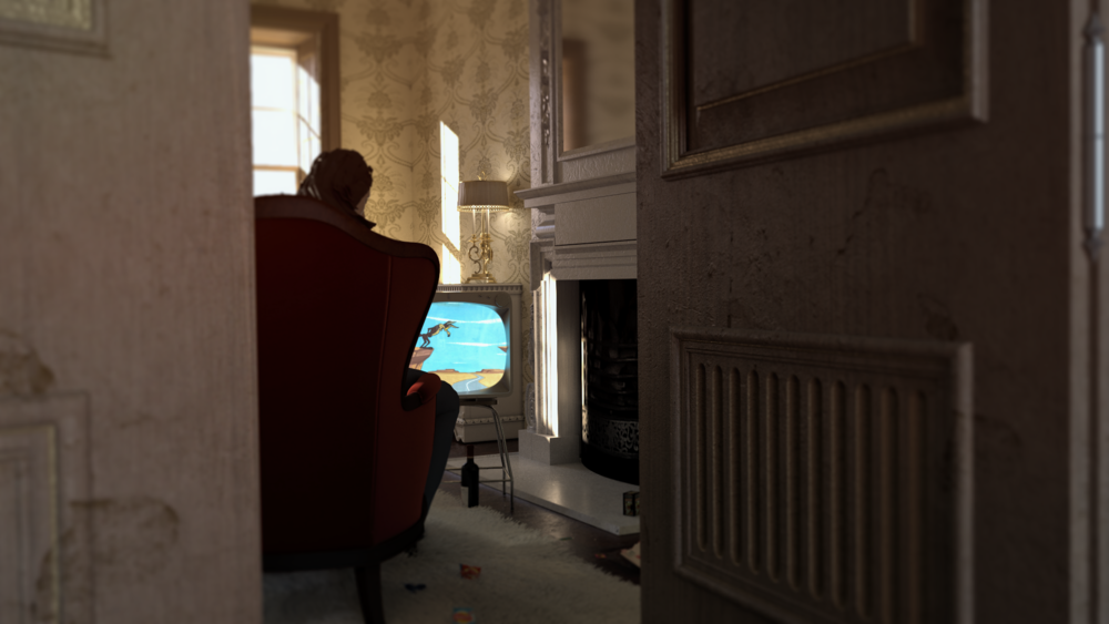Interior Test / 3DS Max and Vray