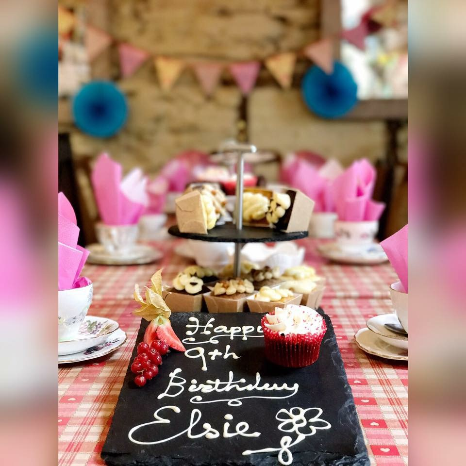 Awesome afternoon tea birthday party! -
