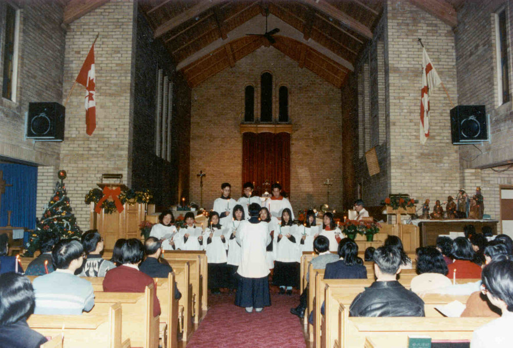 Founded in 1990 - Formed in 1992 from a Cantonese-speaking fellowship group. The first Sunday Service was held in the basement of St. Elizabeth's Church at 964 on the Queensway, Etobicoke on September 6th.