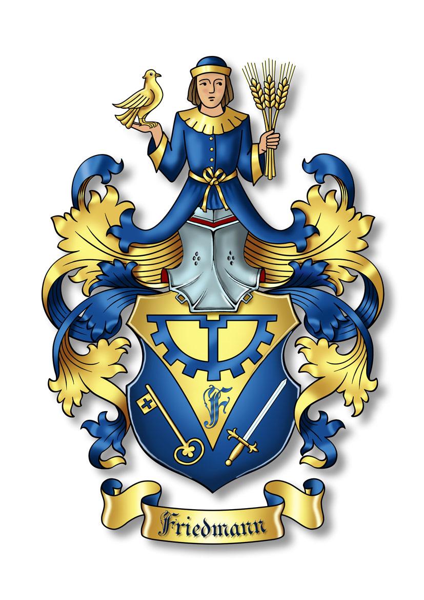 Friedmann Wappen