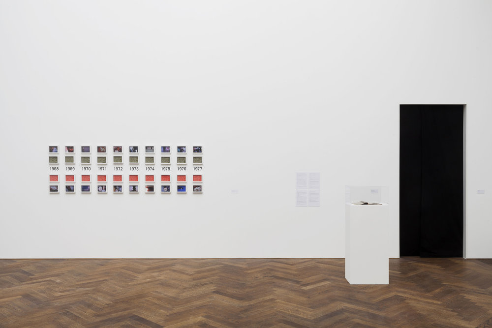 Installation view, Frieze London.