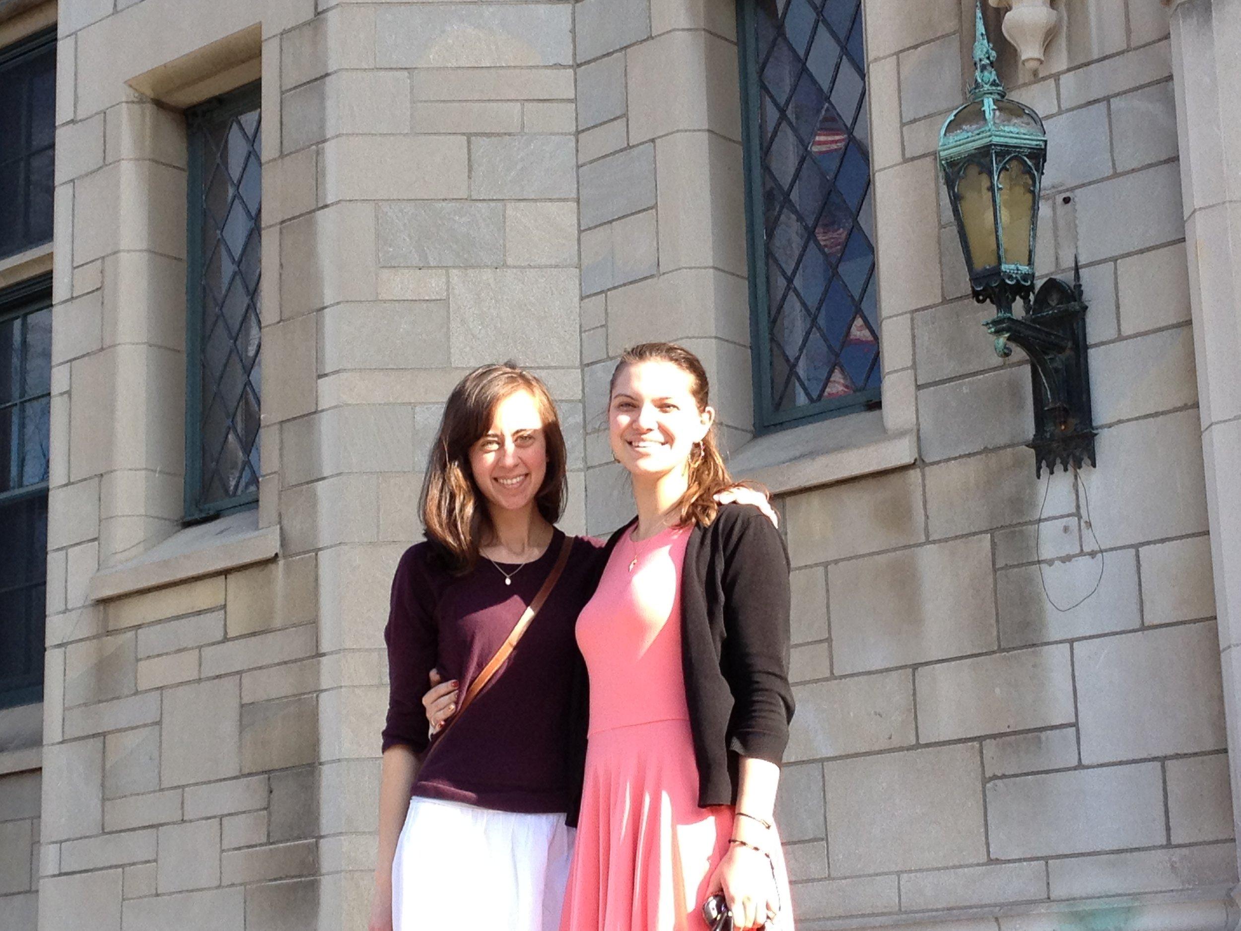 Me & Elise on Easter Sunday!