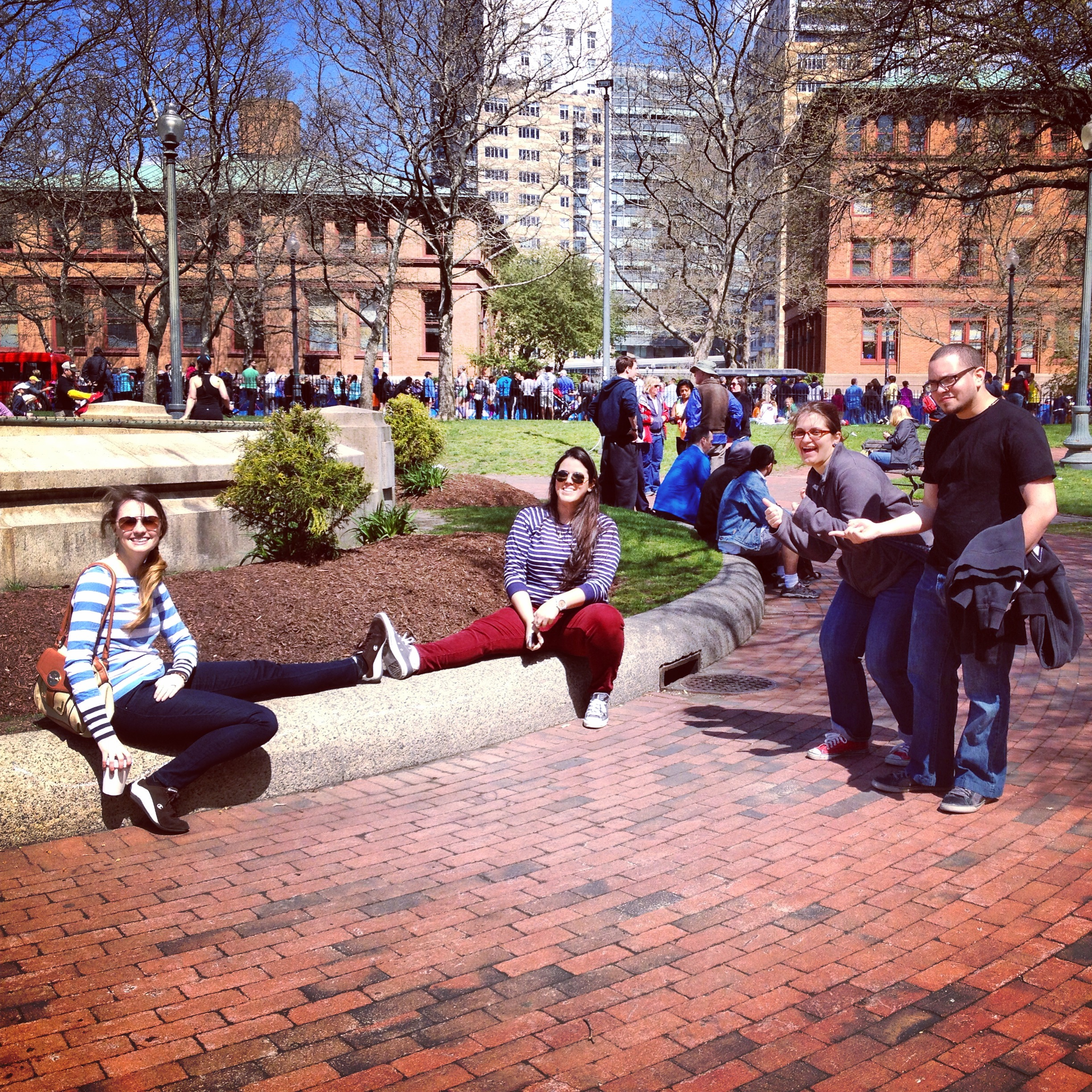 Providence. Just chillaxing.