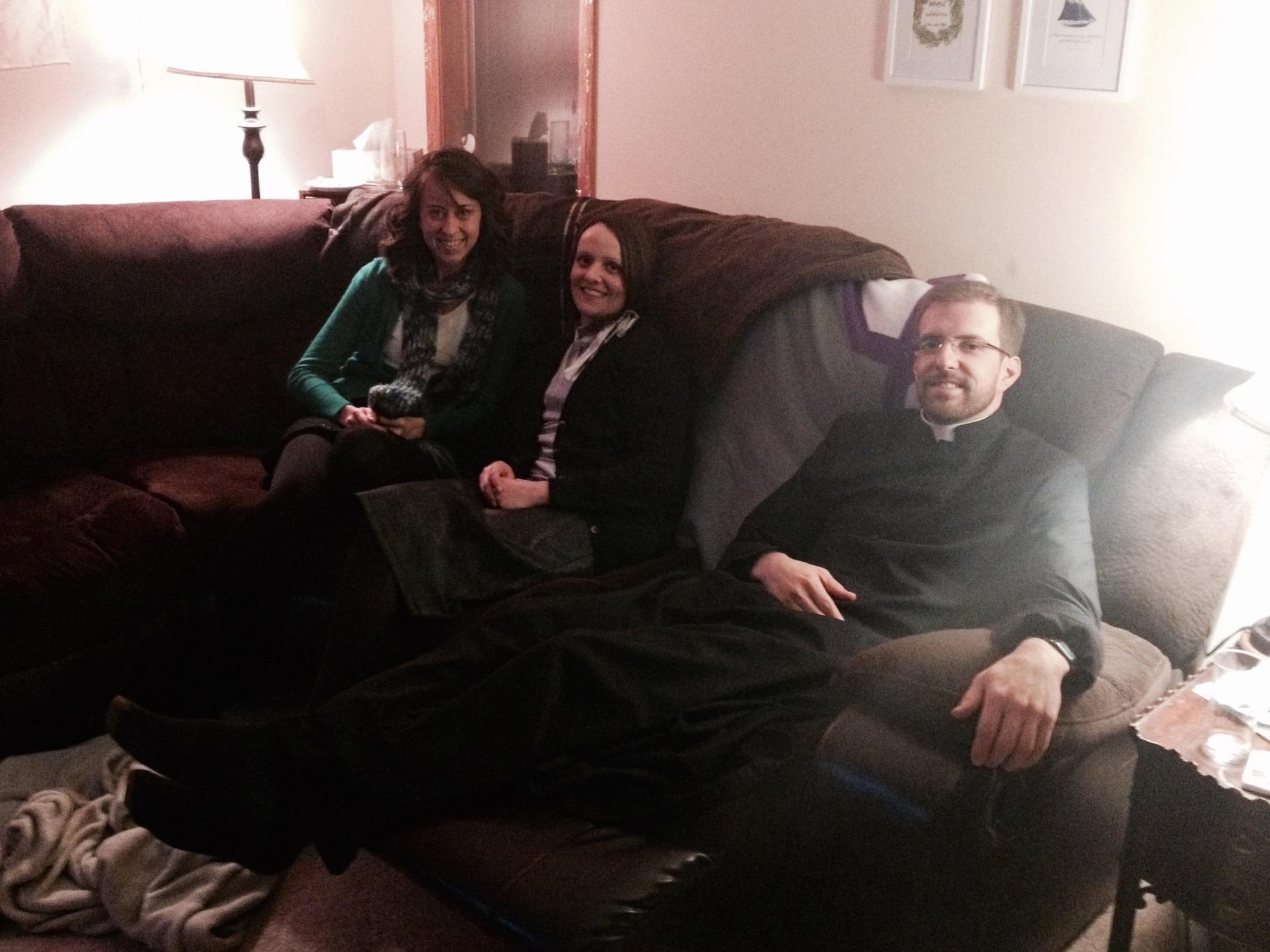 dinner & a movie on Christmas Eve