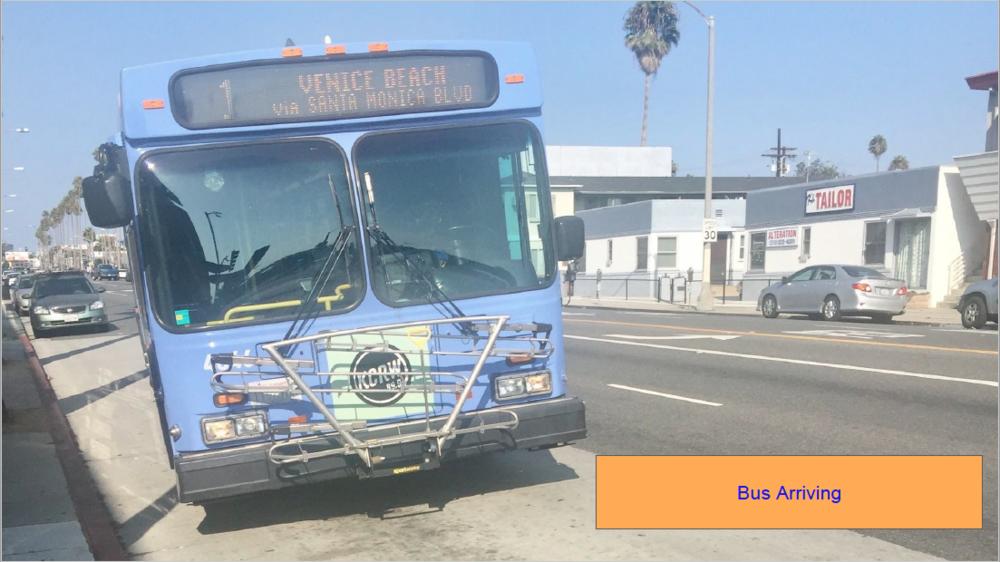 Bus Arriving
