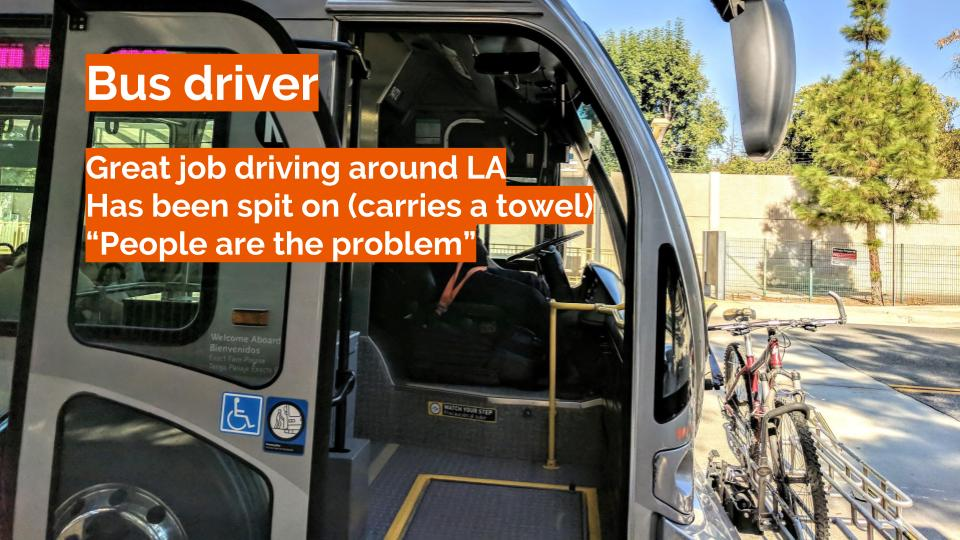 Bus Driver Insights