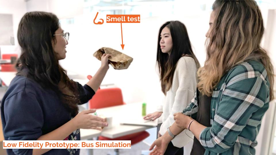 Bus Simulation: Smell Test