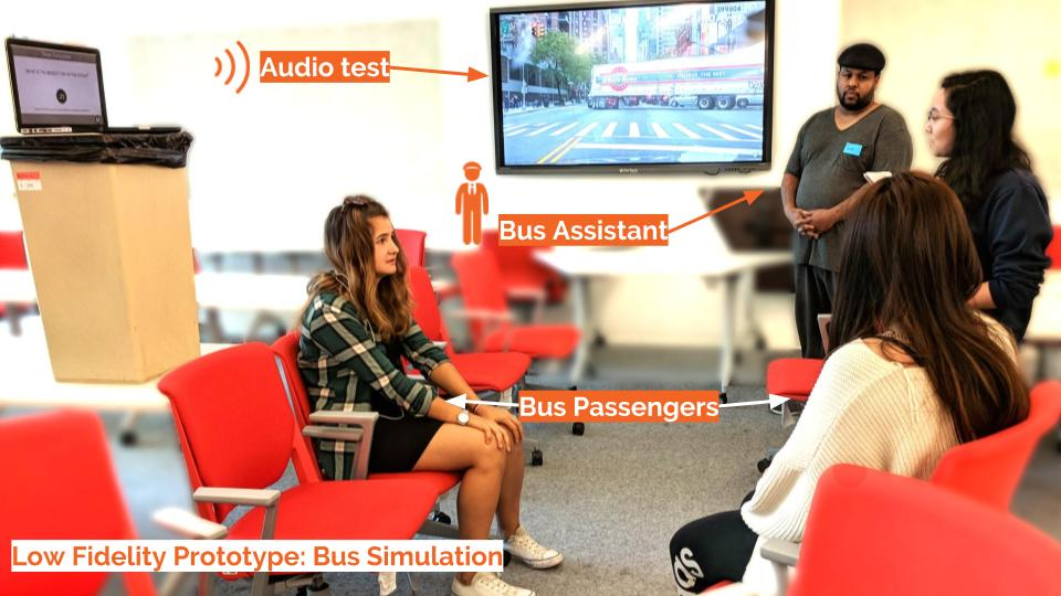 Bus Simulation: Cabin Experience with Bus Assistant and Passengers