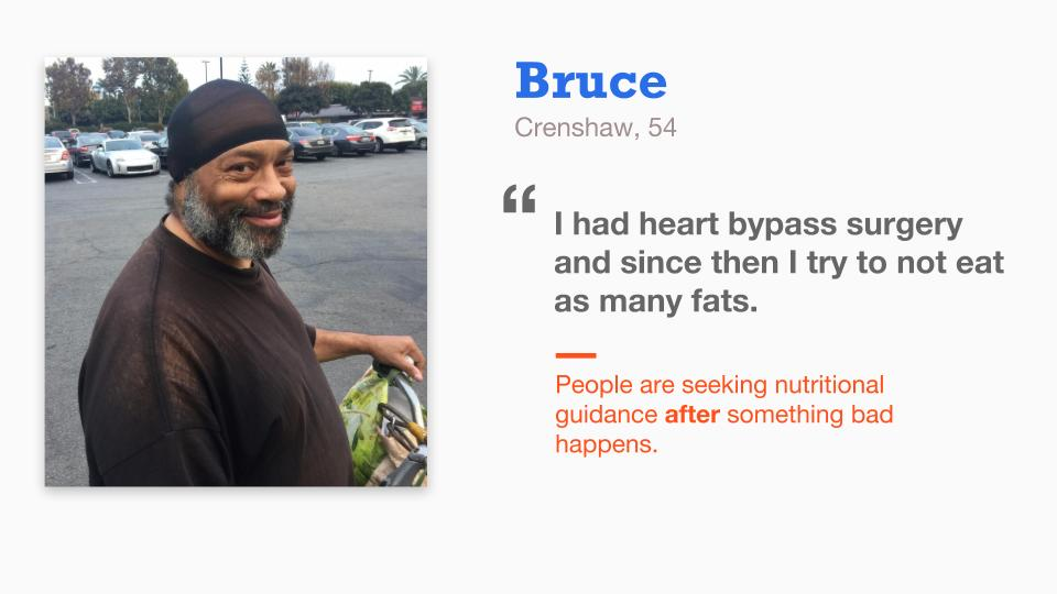 Bruce, A Crenshaw Resident