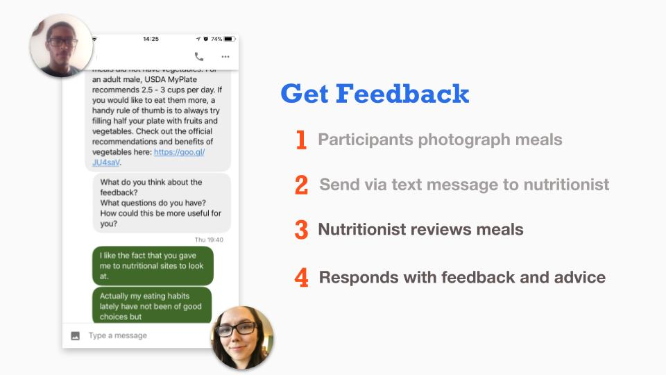 Get Feedback About Your Meal