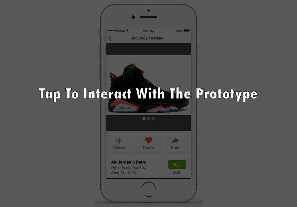 Shoe Alert Interactive Prototype