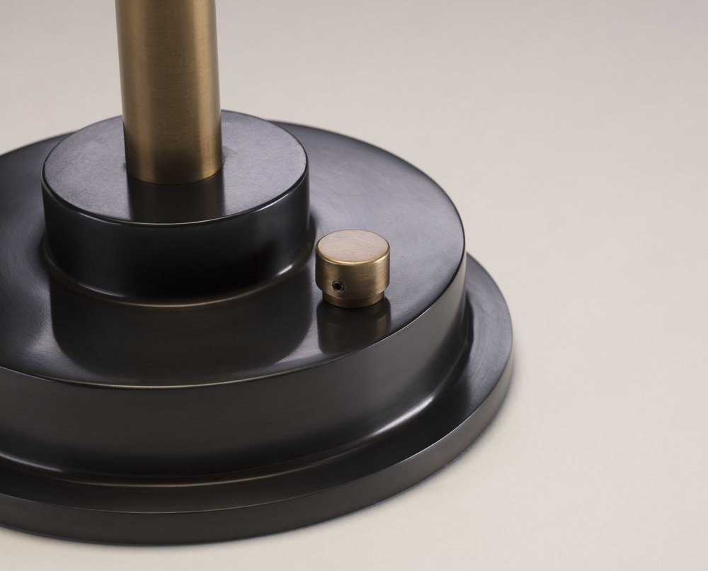 Disc Lamp Matte Black by APD Argosy Product Division