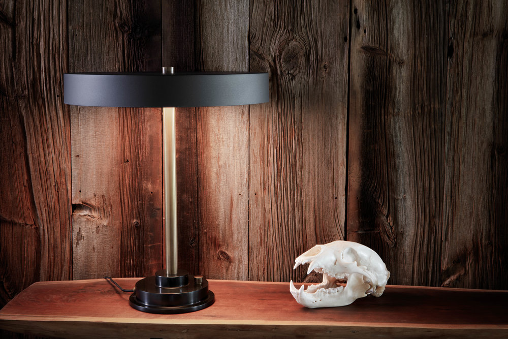 Disc Lamp Matte Black