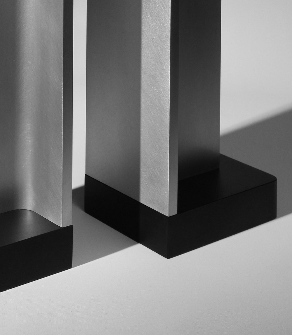 APD Argosy Product Division Structural Bookends  Industrial & modern product design for contemporary interiors. We believe in quality, simplicity, craftsmanship, and attention to detail.