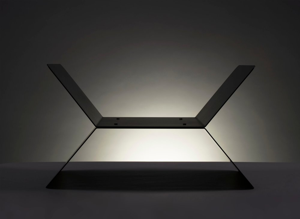 APD Argosy Product Division X Rack  Modern Industrial Product Design for Contemporary Interior Design Clean Geometry Simplicity with Handmade Craftsmanship
