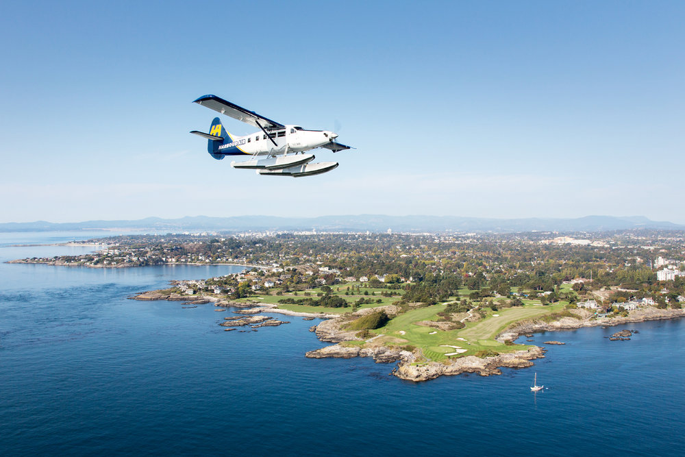 Seaplane Flight to One of the World's Most Famous Gardens