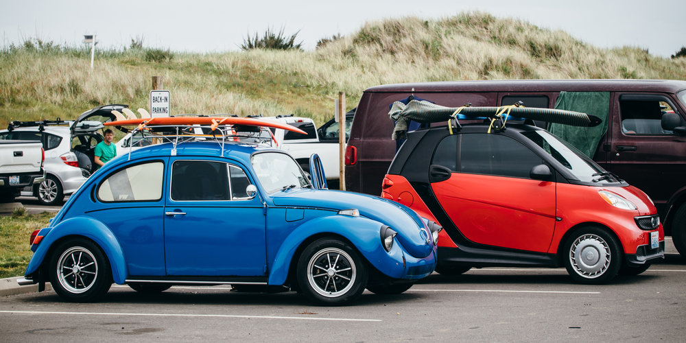 Surf rides come in all shapes and sizes