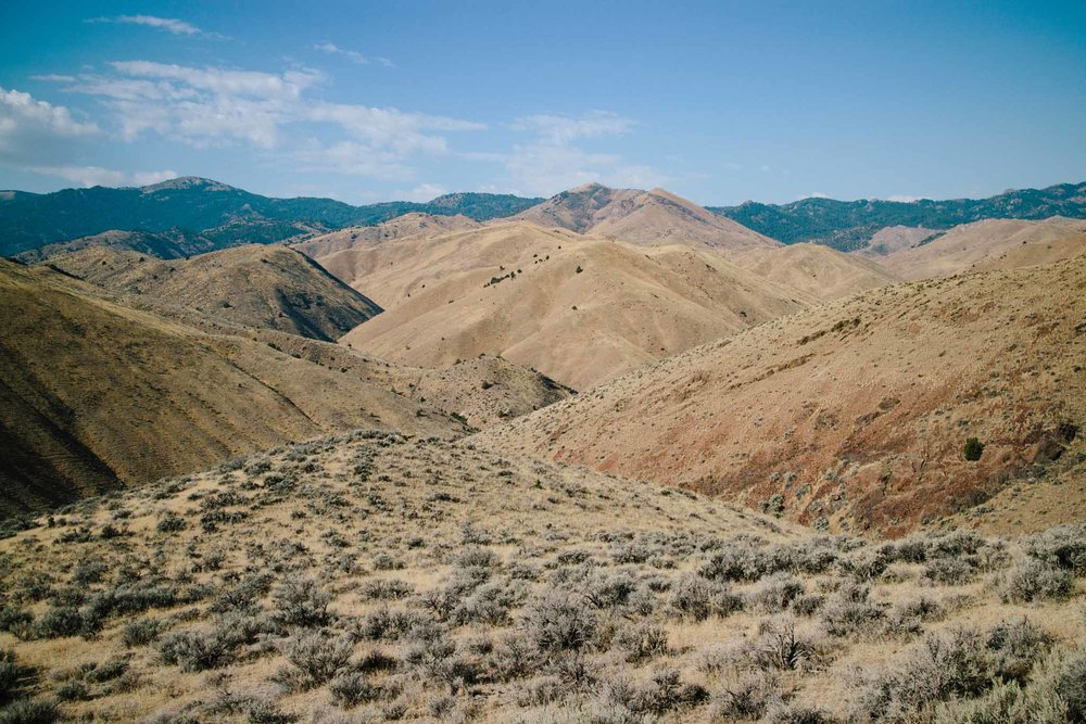 Oywhee Mountains in Idaho