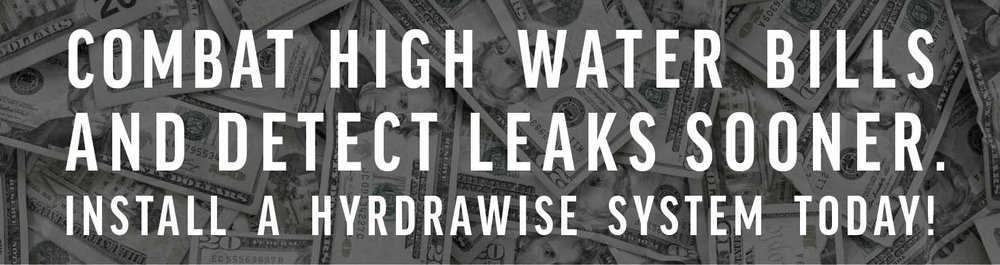 Combat high water bills and detect irrigation system leaks sooner.