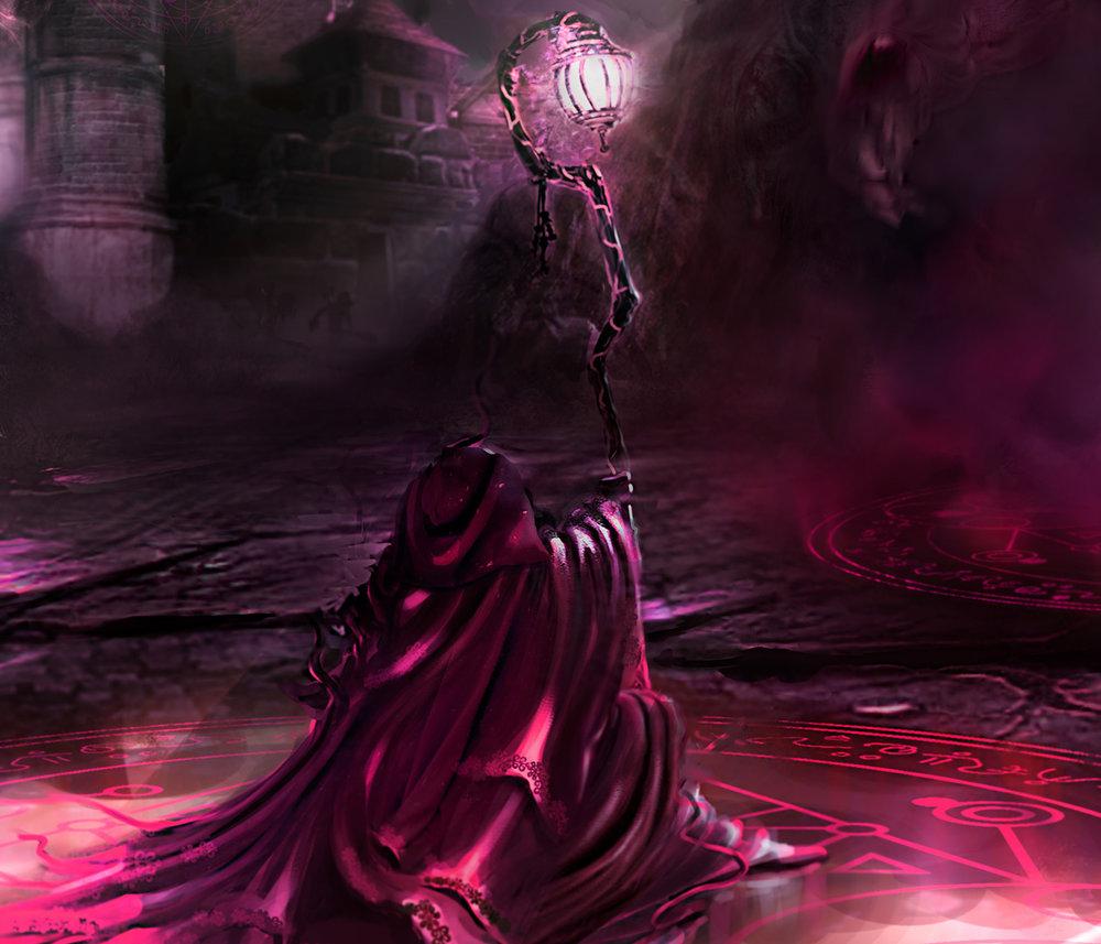 Demon Mage Key Art Detail