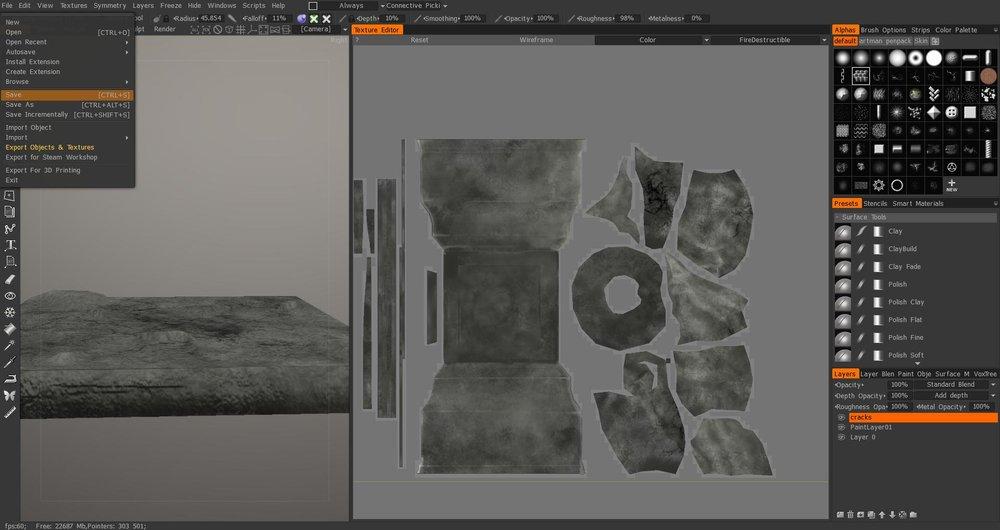 MageWorks - 3D Coat Texture Painting Process