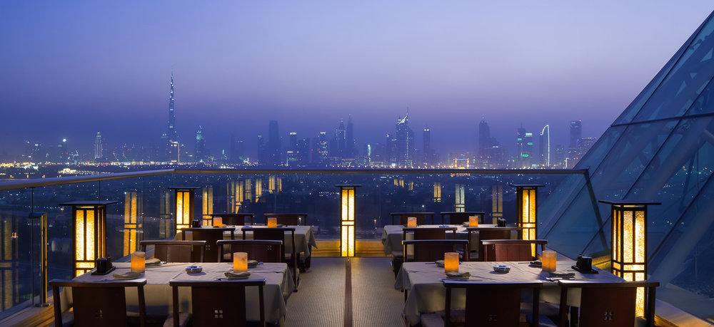 Tomo Restaurant, Dubai - Raffles Hotel