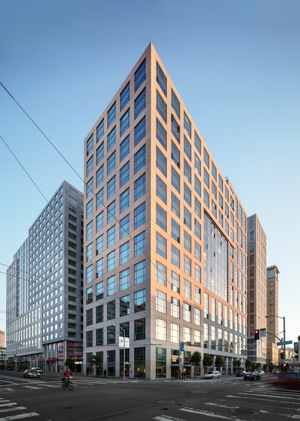 Trinity Apartments, San Francisco, CA - Arquitectonica