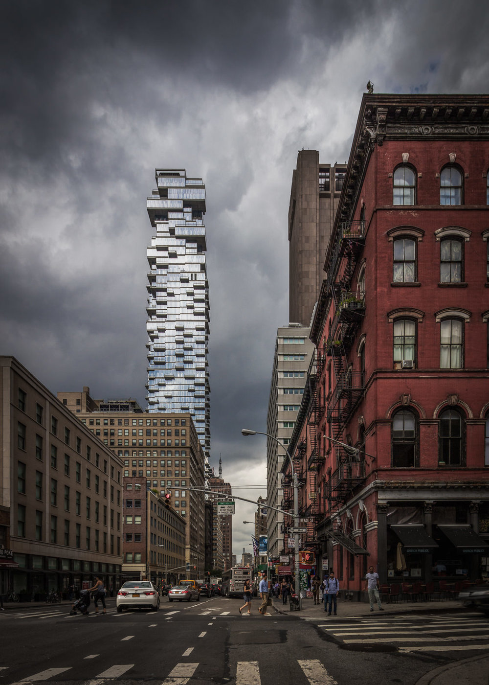 56 Leonard, New York City, NY - Herzog and de Meuron