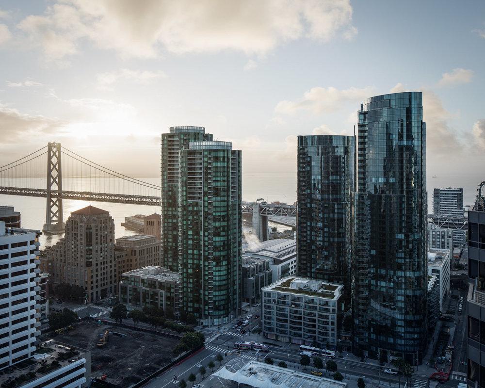 Infinity and Lumina, San Francisco, CA - Heller Manus / Arquitectonica