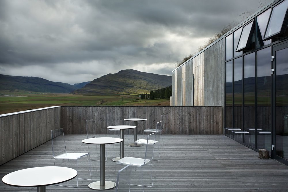 Snæfellstofa Visitor Center, Vatnajökull National Park, Iceland - ARKís Architects
