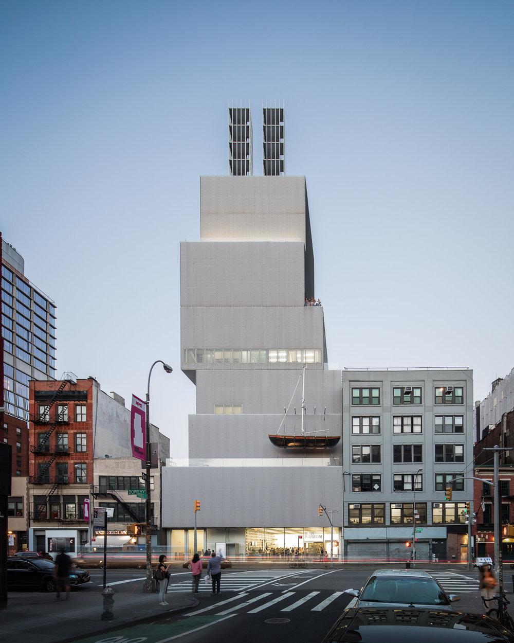 The New Museum, New York City, NY - SANAA
