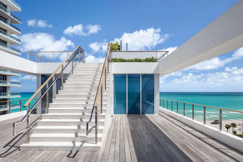 Beach House 8, above and below