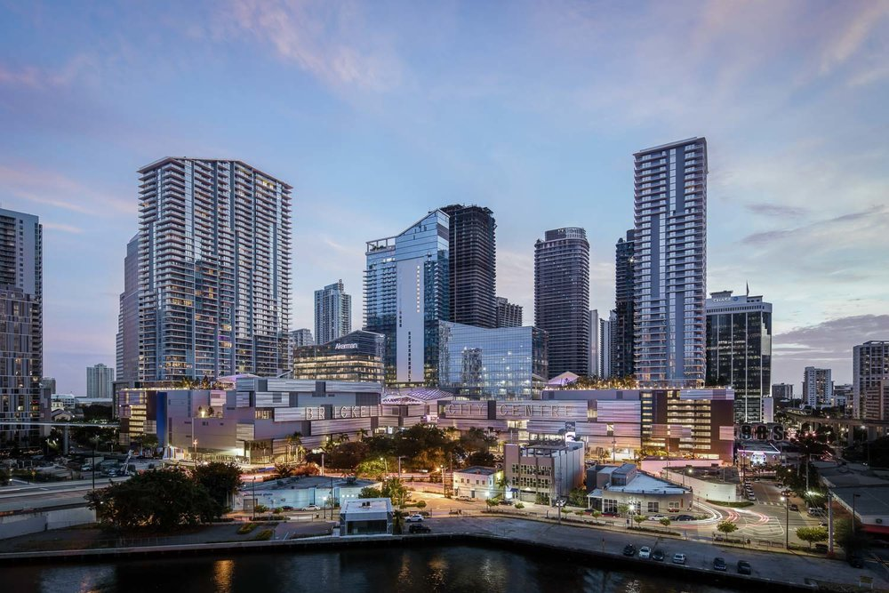 Overall view of Brickell City Centre development