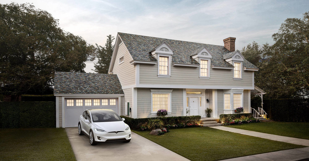 Tesla Motors - Solar Roof and Powerwall