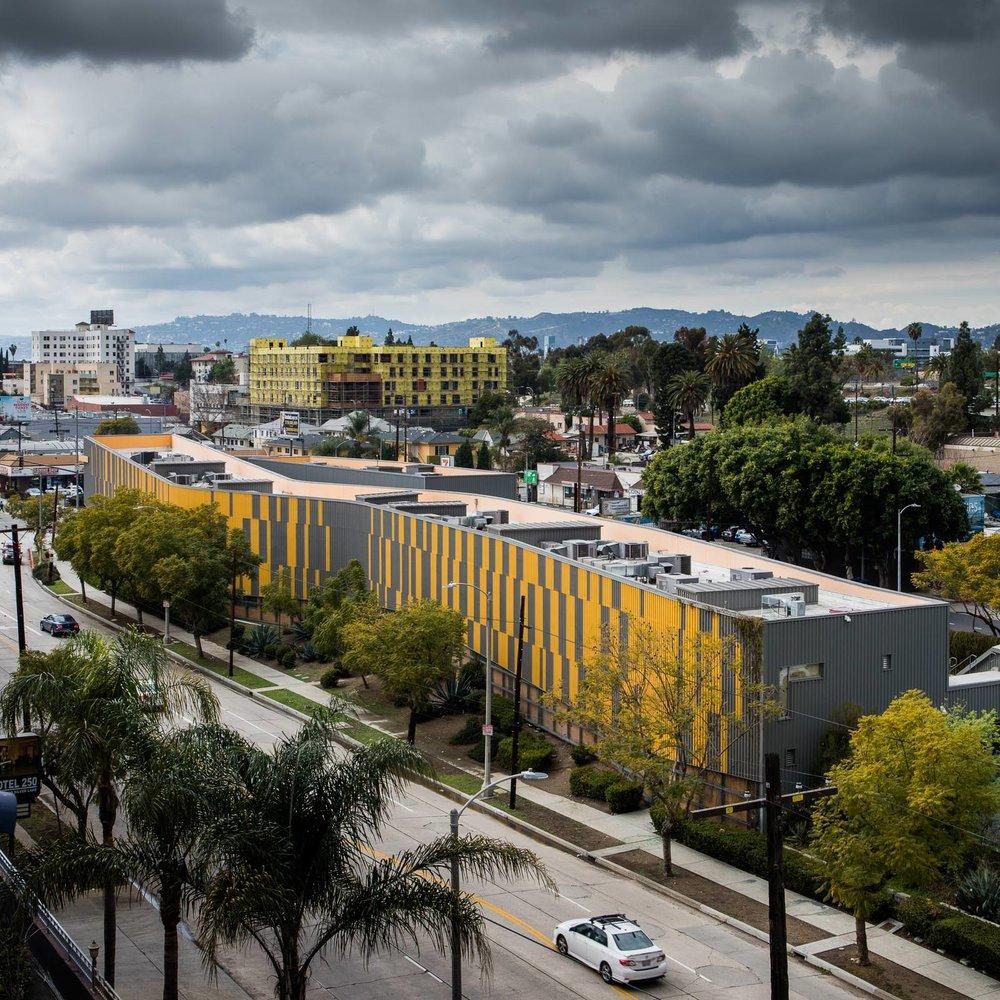 Camino Nuevo High School, Los Angeles, CA - Daly Genik Architects