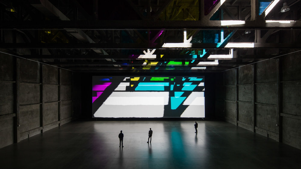 The Marciano Art Foundation, Los Angeles, CA - Yantrasast Kulapat / Olafur Eliasson (Reality Projector)