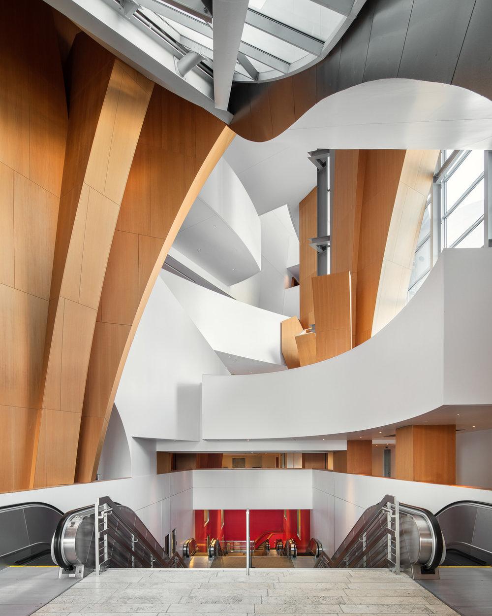 Walt Disney Concert Hall, Los Angeles, CA - Frank Gehry