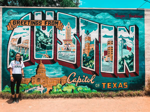 Life lon wellness health and wellness tips for the holistic minded next we traveled to the greetings from austin postcard mural to of course get an iconic photo or two austin struck me as an artistic city and has intricate m4hsunfo