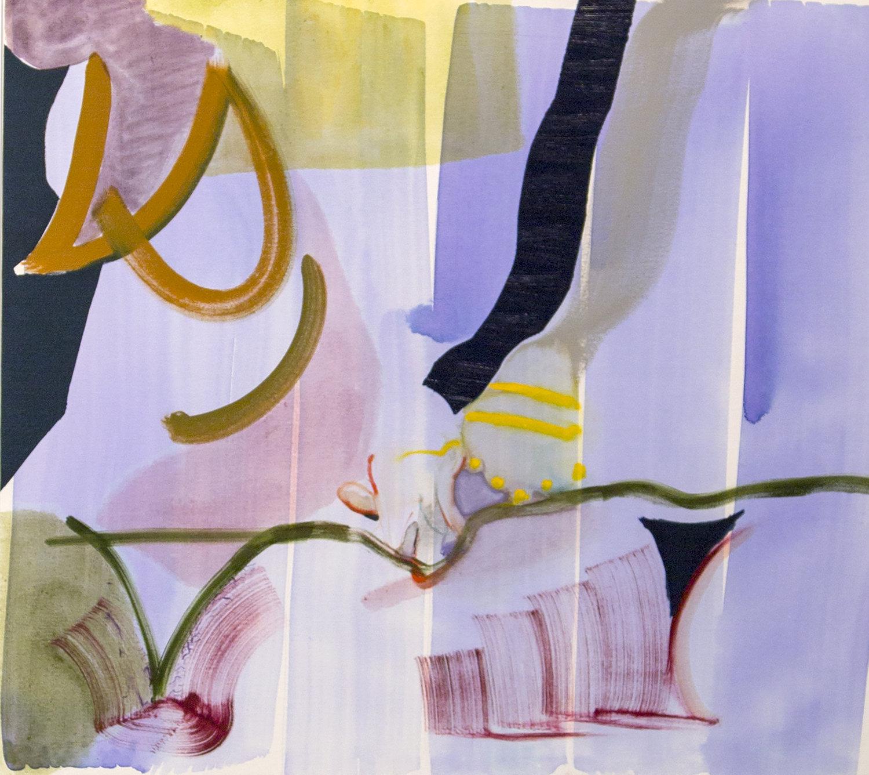 Handholding, art by Gina Malek