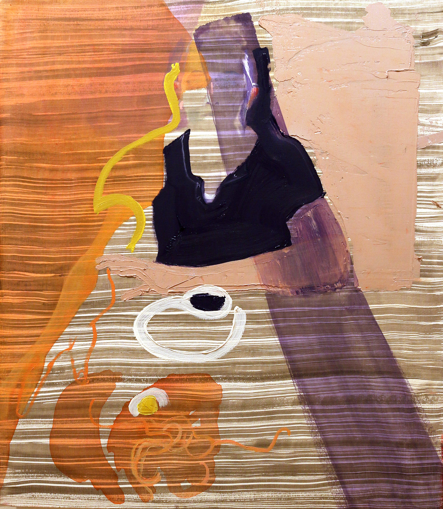 Tea and Ramen, art by Gina Malek