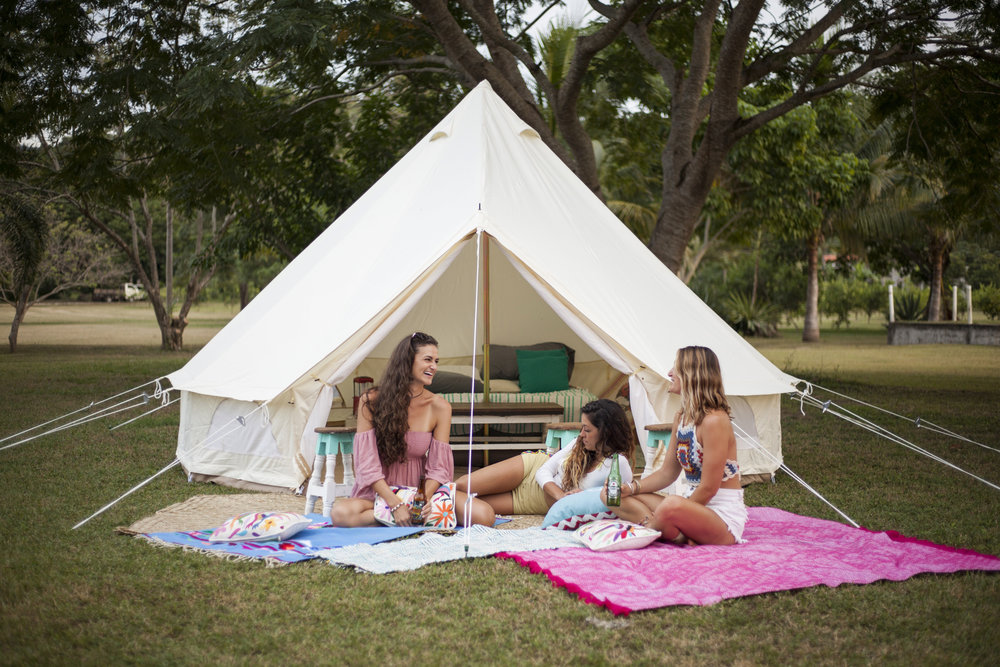 Glamping Bell Tent $250