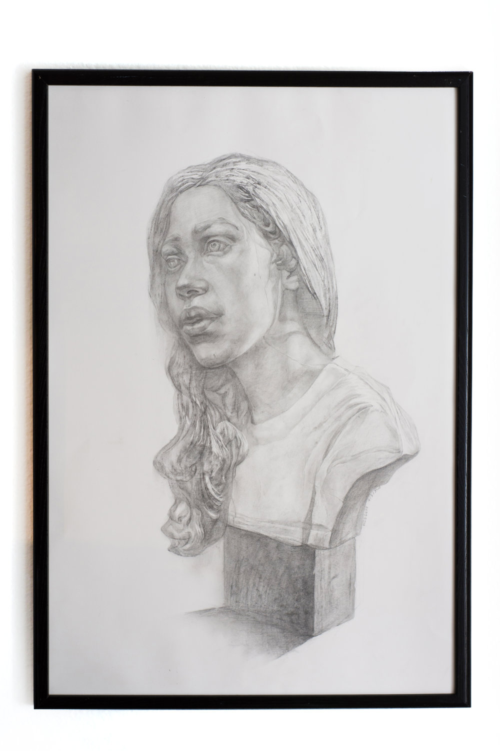 20*30in  September, 2018  charcoal on paper