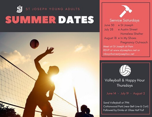 Come serve with us this summer (both volleyballs and other people)!