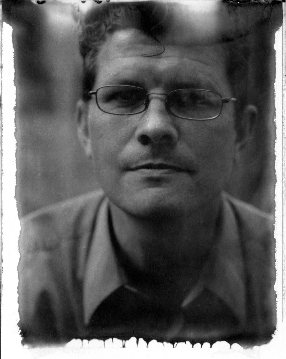 Portrait of Zeb Andrews - Captured by Jim Hair on a Graflex Crown Graphic with New55 PN Film.