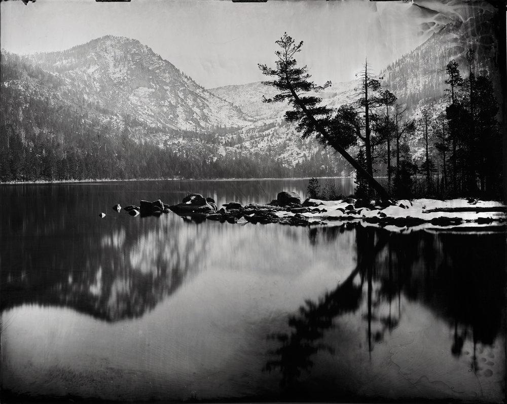"""Cascade Lake"" - 48''x60'' Tintype - 2013"