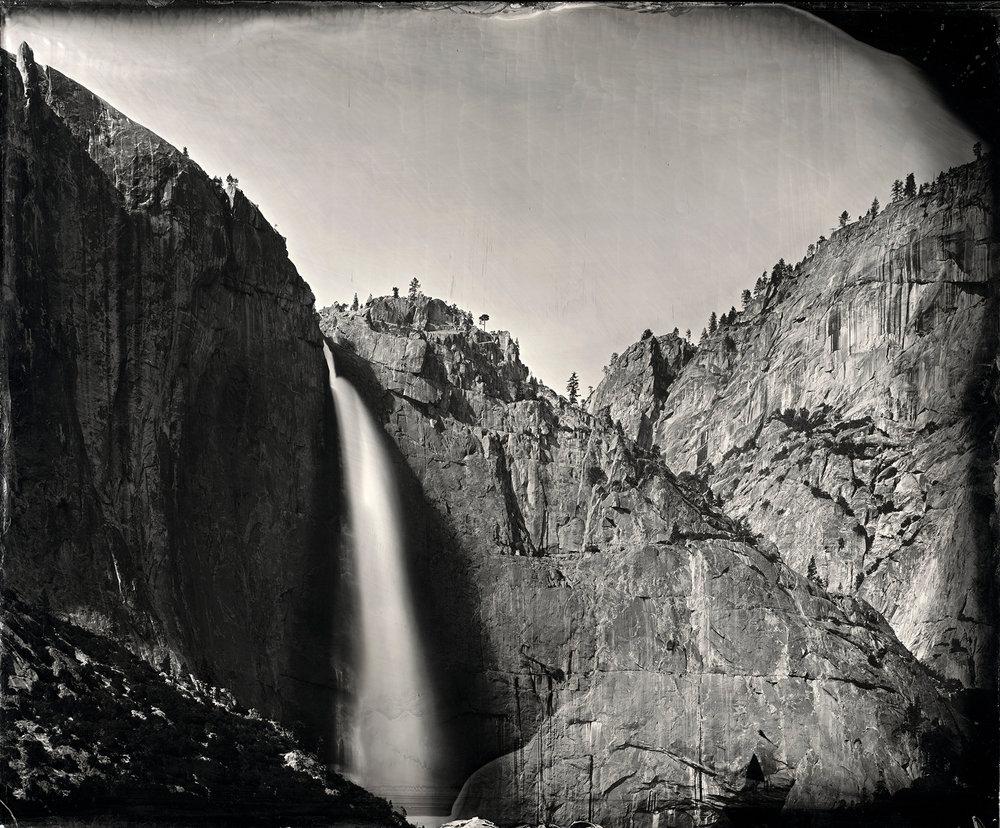 """Yosemite Falls"" - 24''x30"" Tintype - 2013"