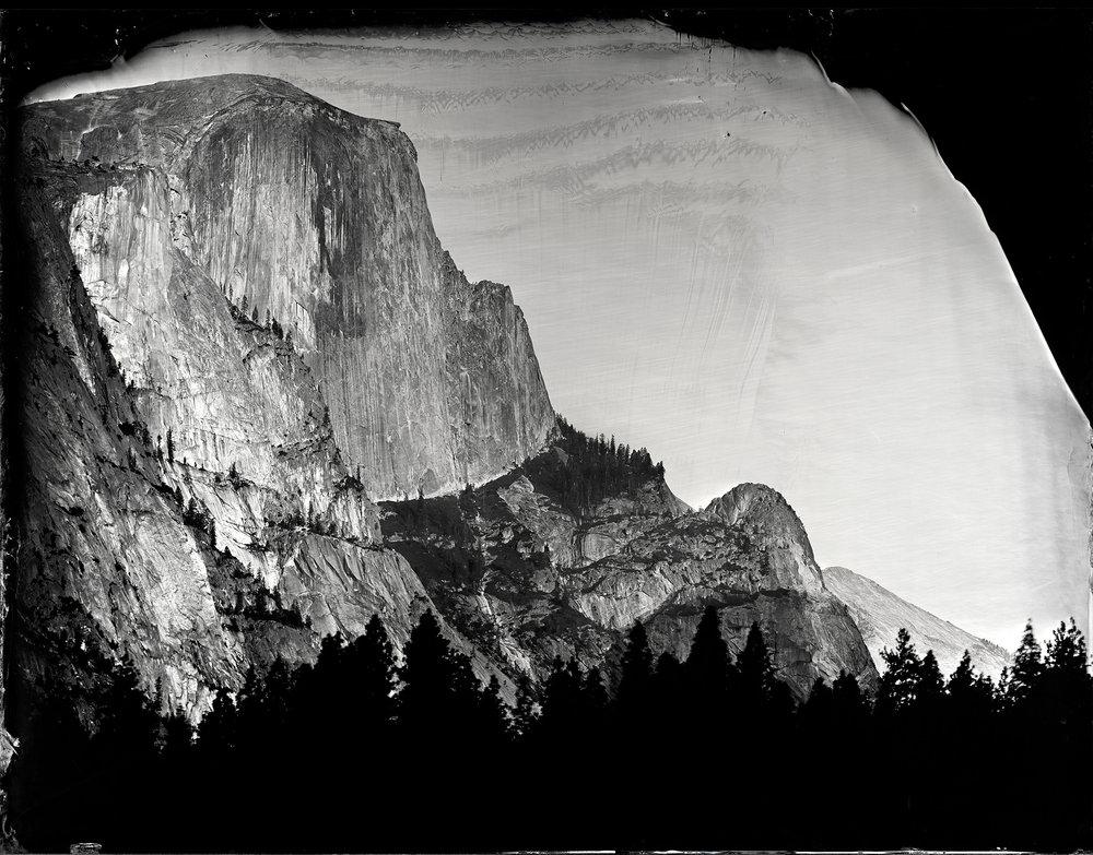 """Half Dome"" - 24""x35"" Tintype - 2013"